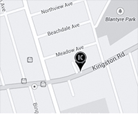 Map to Kingston&Co